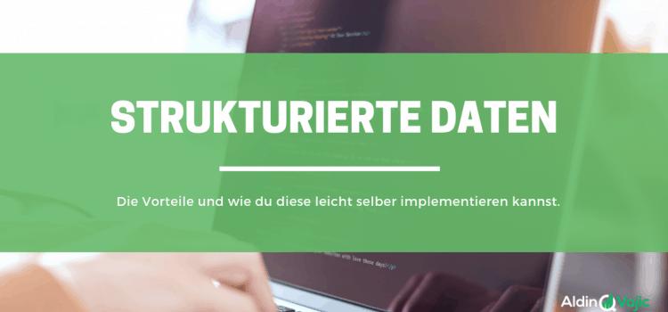 Strukturierte Daten - Header
