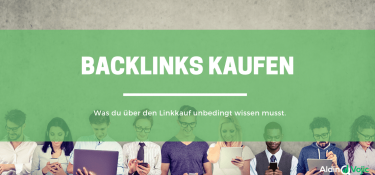 Backlinks kaufen - Header