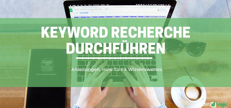 Keyword Recherche - Header