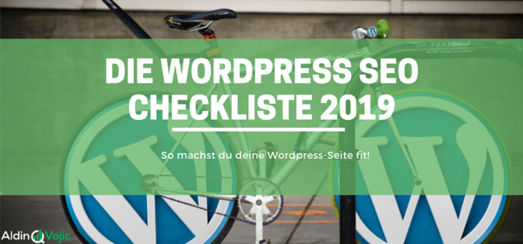 Wordpress SEO Checkliste Header